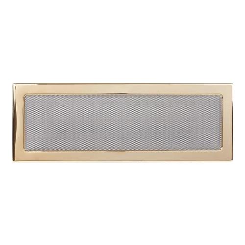 Вент.решетка 170х480 мм. золото двойная сетка