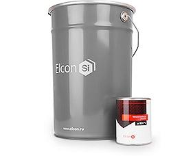 Эмаль термостойкая Elcon красно-коричневая  (0